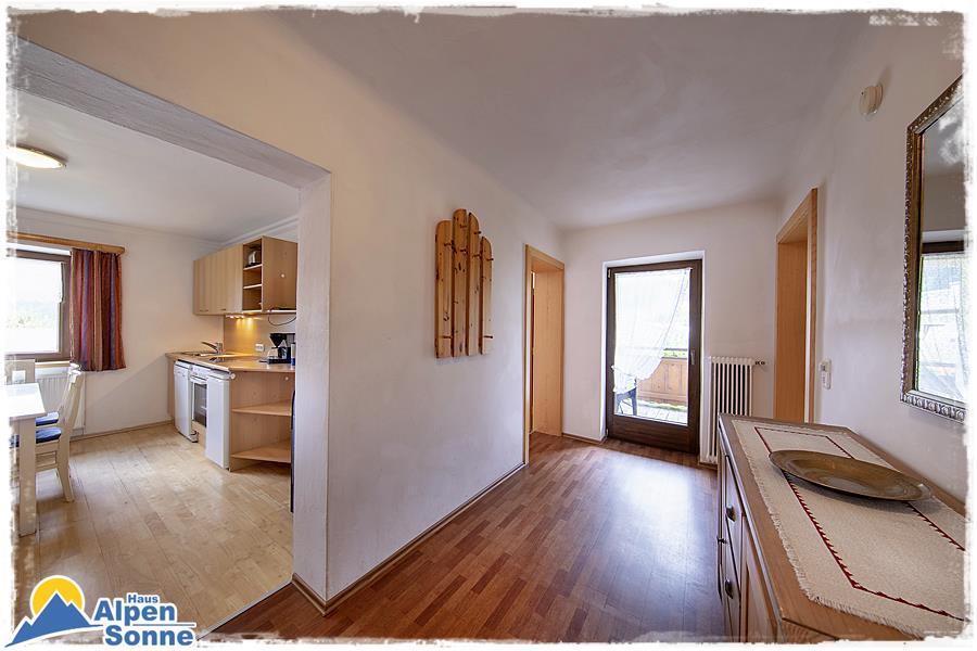 Ferienwohnung 6 -  Appartement mit 3 Schlafzimmern und Balkon